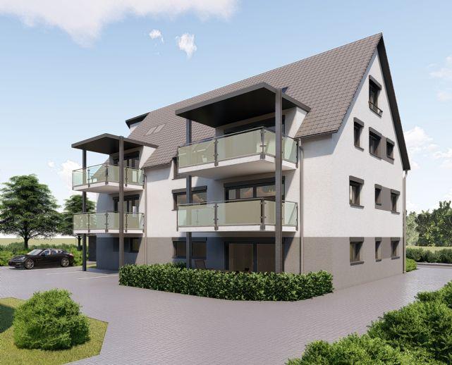 März 2020 Bezugsfertig DG Wohnung 4,5 Zimmer Maisonette-Galerie mit 115m² Wohnfläche * Bahnanschluss 5 Min. Fussweg.