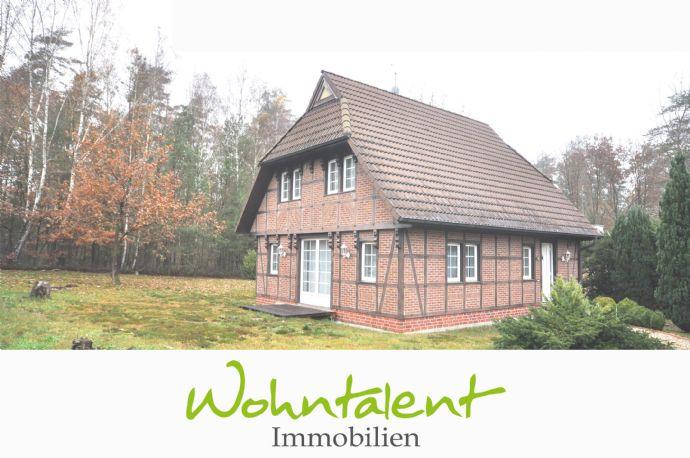 Solides Fachwerkhaus Bj. 2000 am Waldrand
