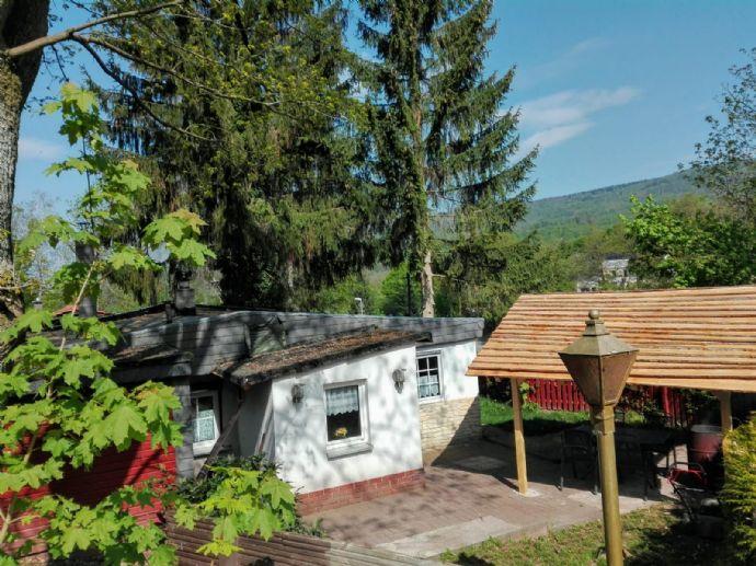 Ferienhaus im Harz - zur Vermietung und/oder Eigennutzung - derzeitiger Mietertrag bei teilweiser Eigennutzung 12.000,00 €
