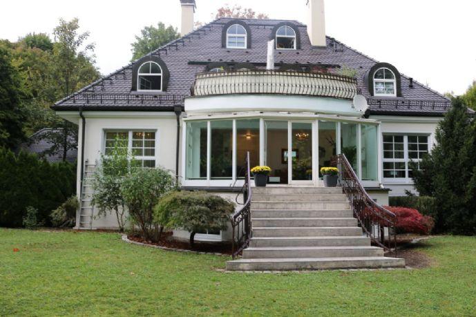 RIVA Luxus-Loft-Wohnung, eigener Garten, bestes Grünwald