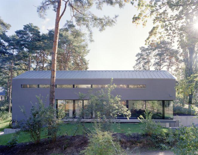 Prämiertes Niedrigenergie-Architektenhaus im Bauhausstil