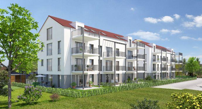 **Baubeginn erfolgt** Neubau in Leitershofen ** ELMER-FRYAR-RING**