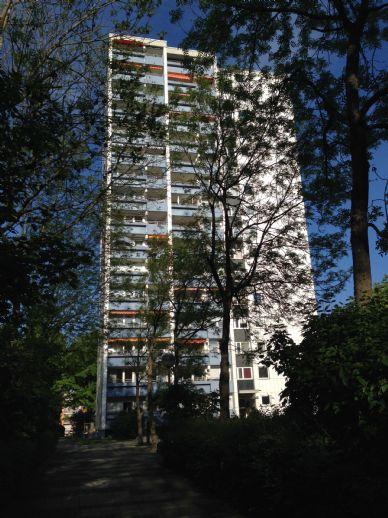 1-Zimmer-Wohnung mit Balkon (Hochparterre) und moderner Einbauküche