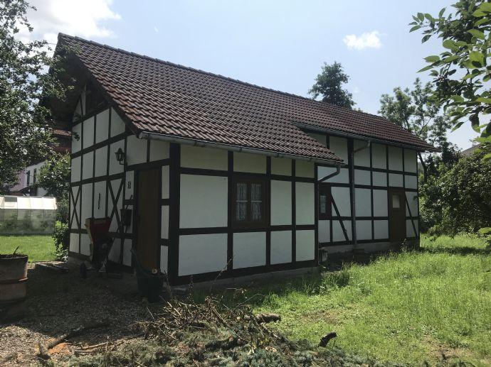 Grundstück mit Wochenendhaus in Hildburghausen