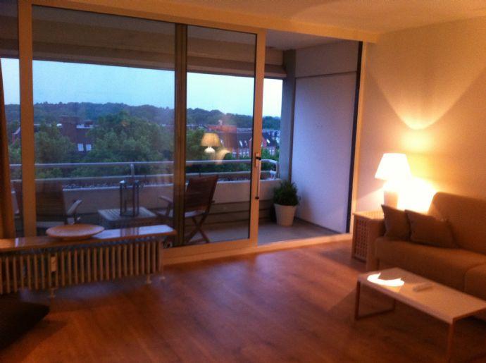 Sonniges Apartment mit grüner Aussicht