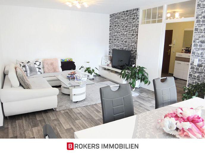 Schicke 3-Zimmer-Wohnung mit Loggia in ruhiger Wohnlage