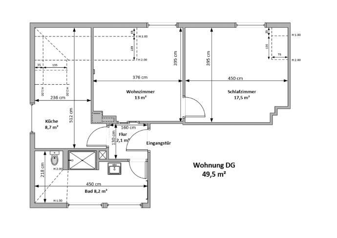 Gemütliche 2,5 Raumwohnung in Dresden Coschütz