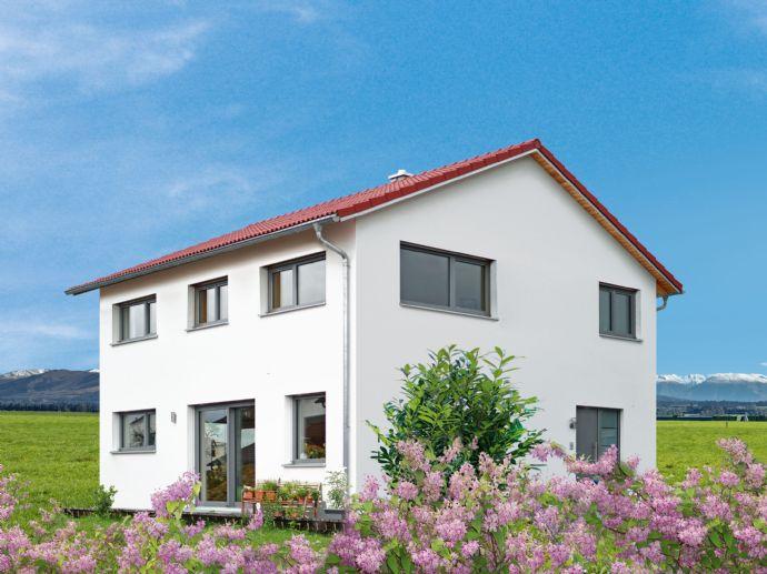 Traumhaftes Zuhause: neues Naturholzhaus mit wunderschönem Grundstück!