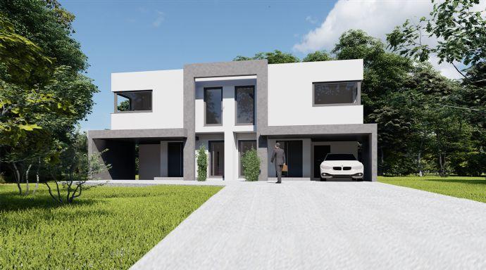 Erstklassige Doppelhaushälfte in Sackgassenlage