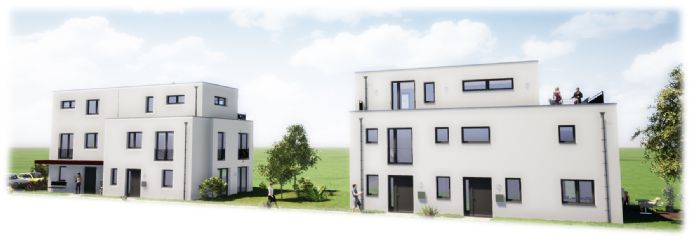 Neubau Doppelhaushälfte mit schönem Garten in ruhiger Lage von Niendorf