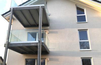 Exklusive, moderne 2-Zimmer-Wohnung mit Garten und toller Aussicht!