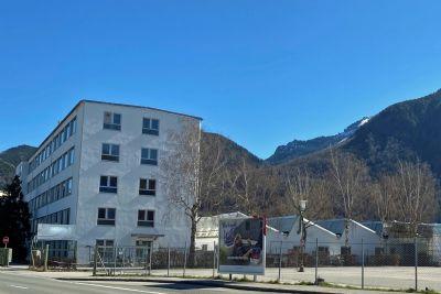 Grassau Halle, Grassau Hallenfläche