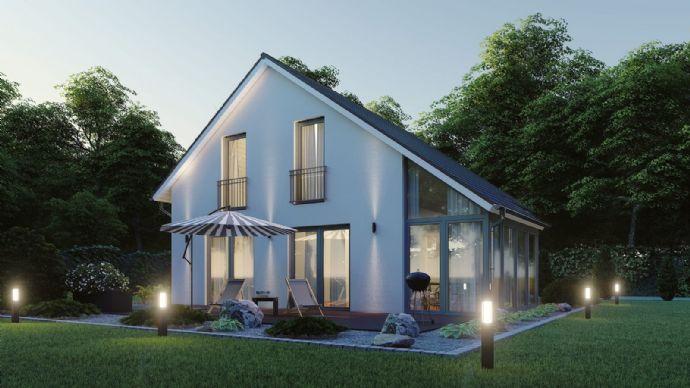 Haus mit Wintergarten