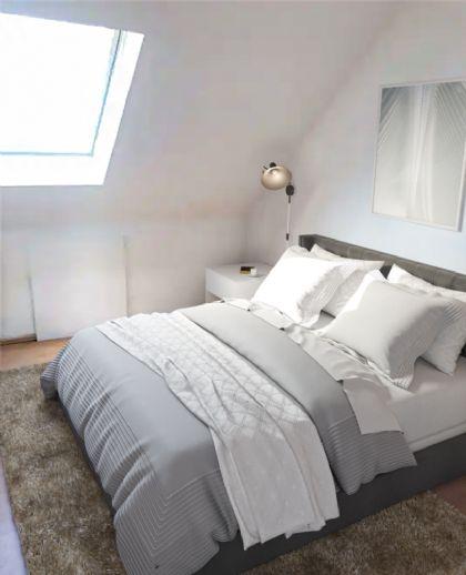 Charmante Dachgeschosswohnung in einem gepflegten Haus.