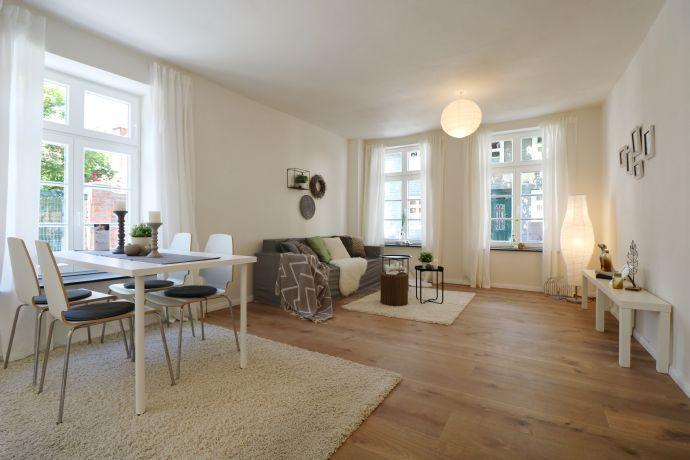 Modernes Wohnen mit repräsentativen Büro in der Lippstädter Innenstadt !