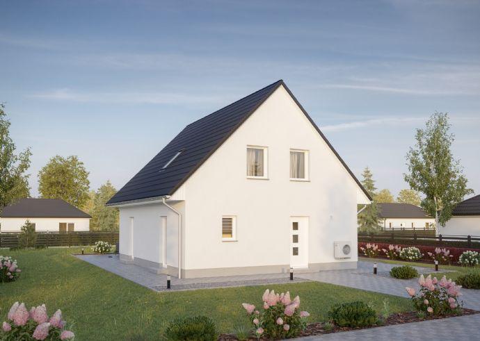 Verwirklichen Sie sich Ihren Traum vom Eigenheim (inklusive Fußbodenheizung, El. Rolläden und Luftwärmepumpe)