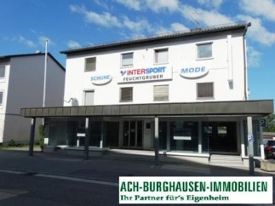Burgkirchen Ladenlokale, Ladenflächen