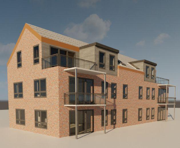 Ebenerdige Eigentumswohnung im Zentrum von Wittmund - 68 m2