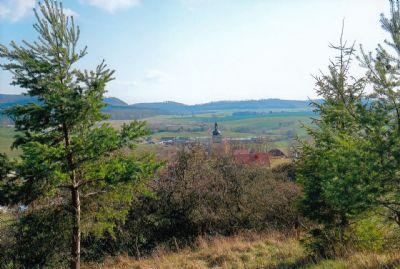 Berggarten mit Panoramablick zur Pacht