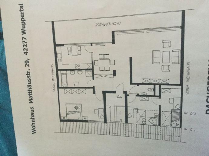 Wohnung mit großer Dachterasse 28qm ab 01.02.20 zu vermieten
