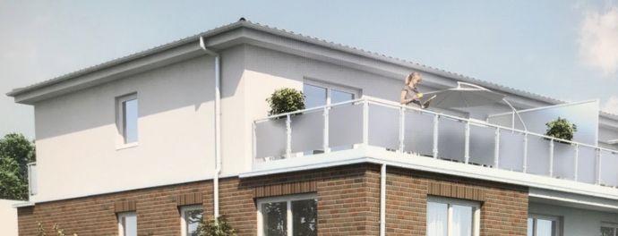 Penthouse (2 Zim.) mit großer Dachterrasse (30m2) in Bramfeld KfW 55