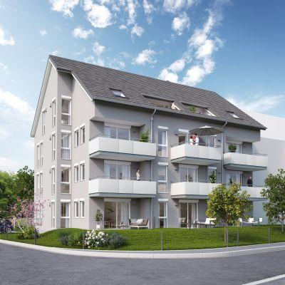 Helle 3 Zkb Mit S D West Balkon Neubau Etagenwohnung Neu