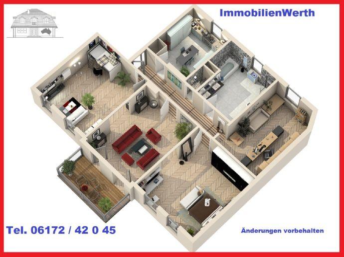 Altbauperle mit 4 wunderschönen Zimmern im Rheingauviertel mit Balkon!