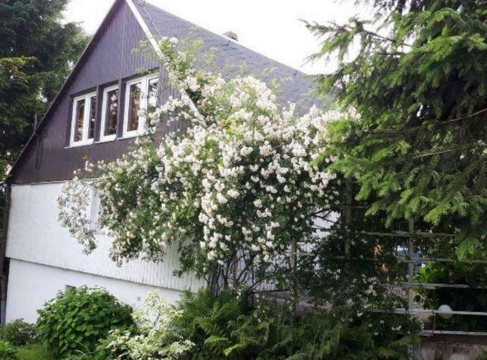 Ferienhaus in exponierter Kammlage am Rennsteig Thüringer Wald