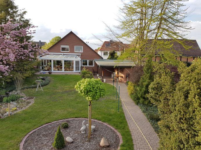Großzügiges Einfamilienhaus mit Einliegerwohnung in zentraler Lage in Dannenberg/Elbe