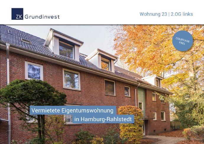Vermietete Eigentumswohnung in Rahlstedt zur Kapitalanlage