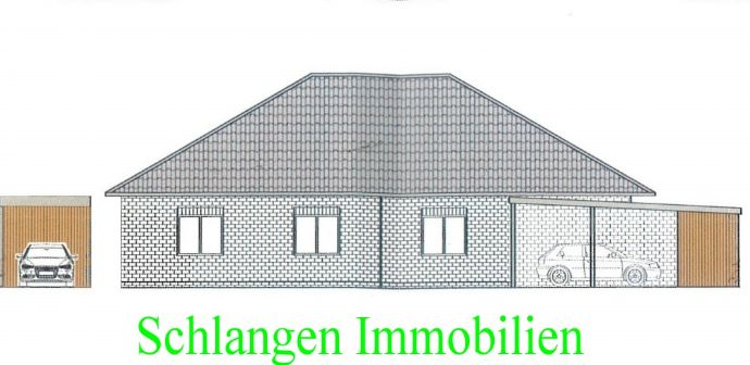 Objekt Nr.: 20/901 Neubauprojekt - Traumhafte DHH im Walmdachbungalowstil in Saterland / OT Strücklingen