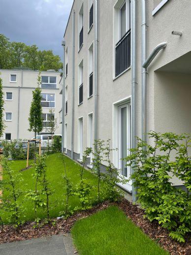 Wohnen am Schlossgarten 3 Raumwohnung nahe Stadtzentrum von Neuruppin mit Terrasse