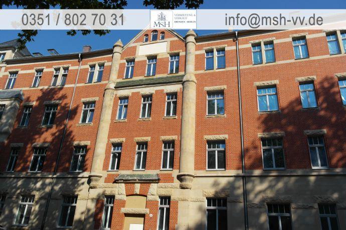 Helle 3-Zimmer-Wohnung mit Balkon im 1.OG - Wohnen in einem neu sanierten Gründerhaus