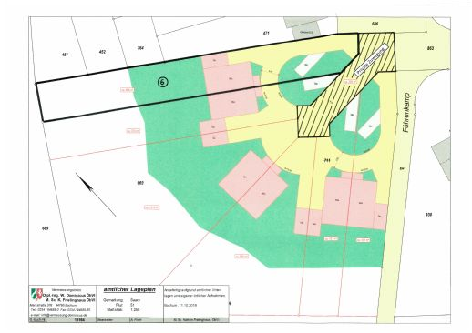 Baugrundstück 700 qm in Mülheim-Saarn für DHH.
