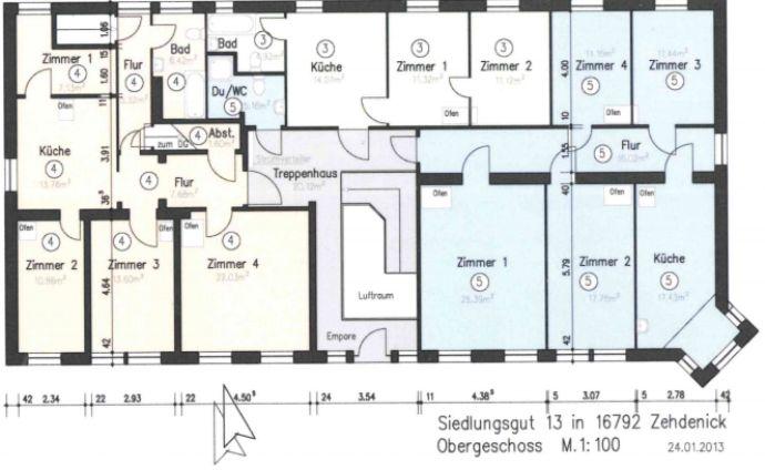 4 Zimmer Wohnung in Mildenberg b Gransee