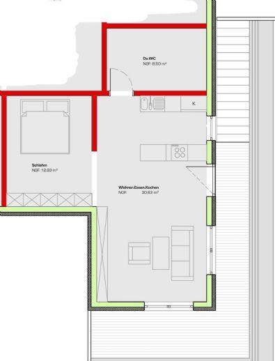 Zwischenmiete Oktober-Dezember Möbliert 1 5-Zimmer-Wohnung