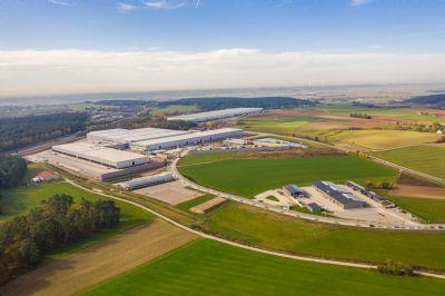 Ansbach Industrieflächen, Lagerflächen, Produktionshalle, Serviceflächen