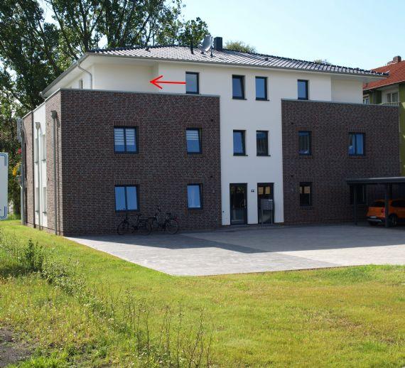 Seltene Gelegenheit! Schicke moderne und komfortable Penthouse-Wohnung  mit großer umlaufender Dach