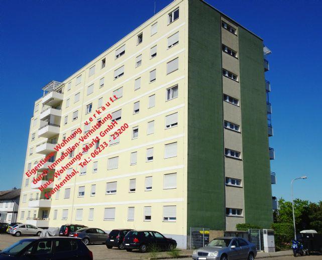 Vermietete 3 Zi.-Eigent.-Wohnung in Frankenthal - nordwestlicher Stadtbereich