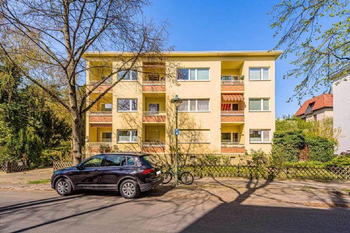 Wohnungspaket: 2 nebeneinander liegenden Wohnungen (vermietet) im ruhigen Steglitz