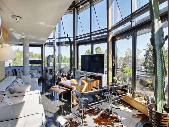 Edles Architekten-Penthouse über den Dächern