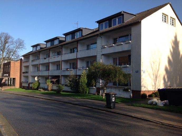 Vermietete 1-Zimmer-Wohnung inkl.Südlogia in Stadtzentrum Schwarzenbek