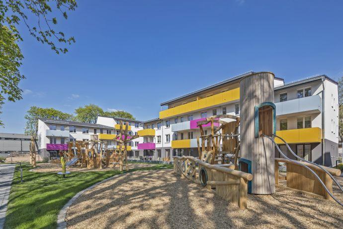 Herrliche 5-Zimmer-Wohlfühlwohnung mit Südterrasse und Garten! Sonnig, hell, modern, zentral! Neubau, Erstbezug.