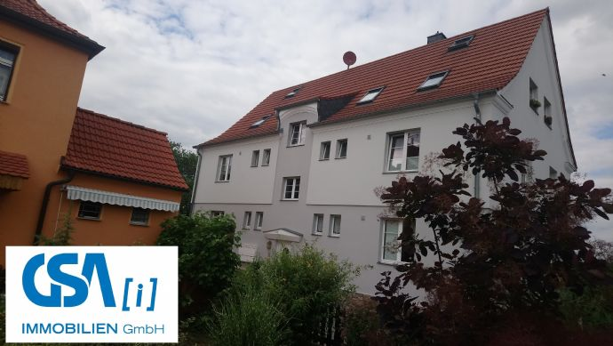 Ruhig gelegene 2RW in Coswig Brockwitz , Tageslichtbad mit Wanne , EG , 54m² , 300 € KM
