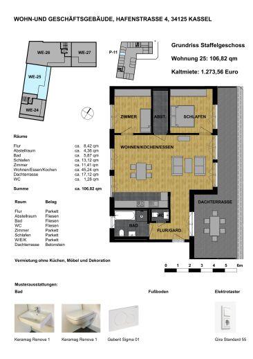 Wohnen in der Unterneustadt - Penthouse W-25