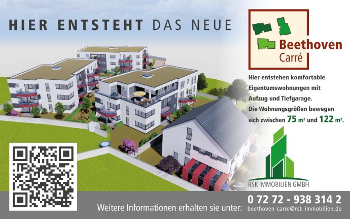 Hochwertige Neubauwohnung - Erstbezug