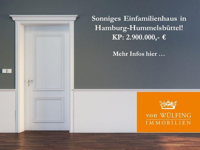 Sonniges Einfamilienhaus in Hamburg Hummelsbüttel...