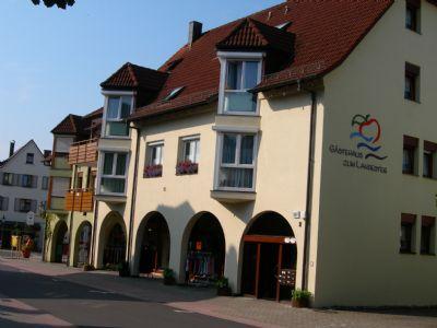 Gästehaus zum Landesteg - Ferienwohnung Nr. 3 in Bachstraße 8