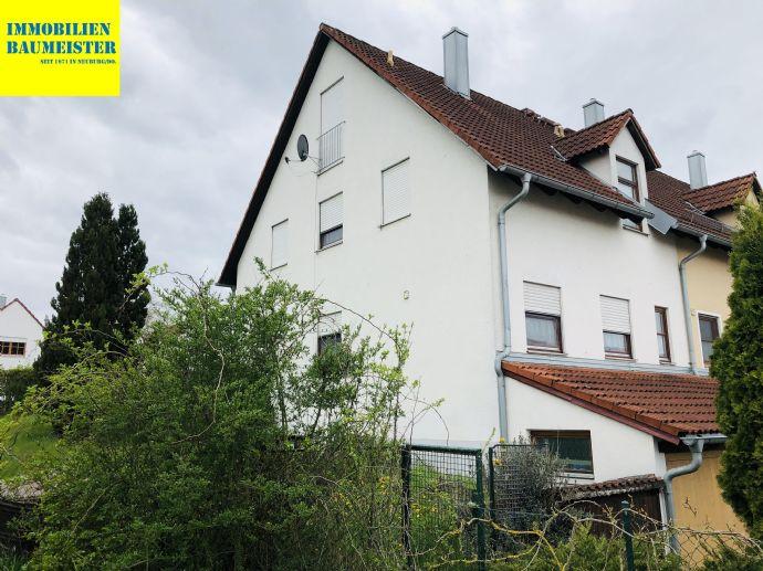 Reihenendhaus in Burgheim zu vermieten -