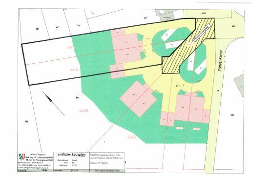Baugrundstück 1.311 qm in Mülheim-Saarn für freistehendes Einfamilienhaus oder 2 DHH.